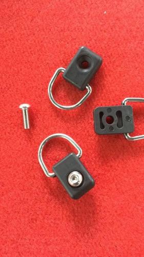 passadores de cabo e presilhas para caiaque