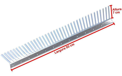 passarinheira universal anti maritacas metal 123 peça(s)