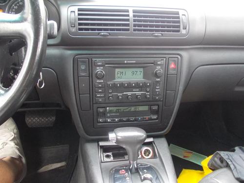 passat 1.8 turbo automático 2005 blindado