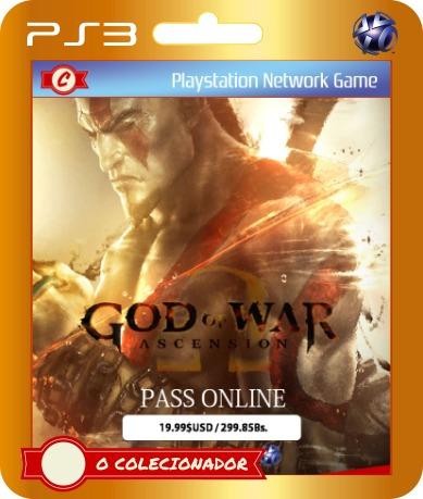 passe online para god of war ascension