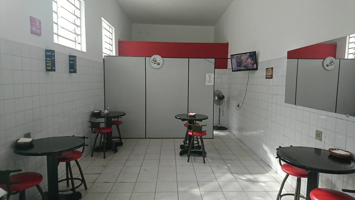 passo ponto cafeteria/lanchonete na barra funda