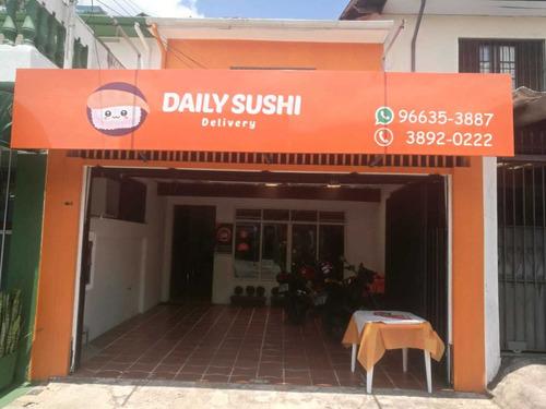 passo ponto delivery equipamentos sushi