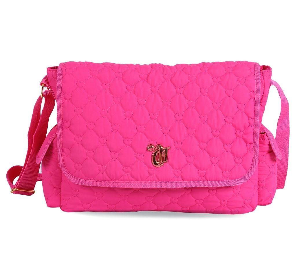 643503c12 Pasta Carteiro Capricho Love Vii Pink - Mochila & Cia - R$ 178,53 em ...