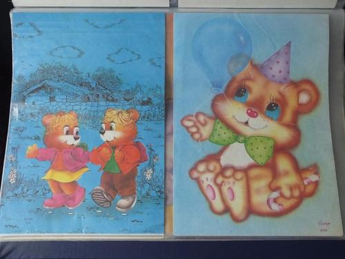 pasta coleçao de papel de carta anos 80/90