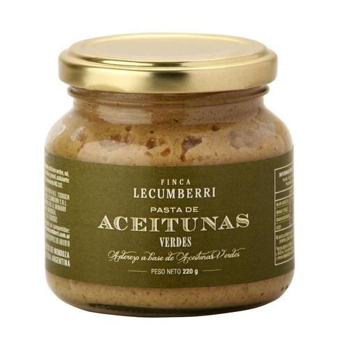 pasta de aceituna verde finca lecumberri x220grs