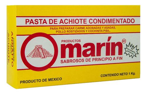 pasta de achiote condimentado marin de 1 kg