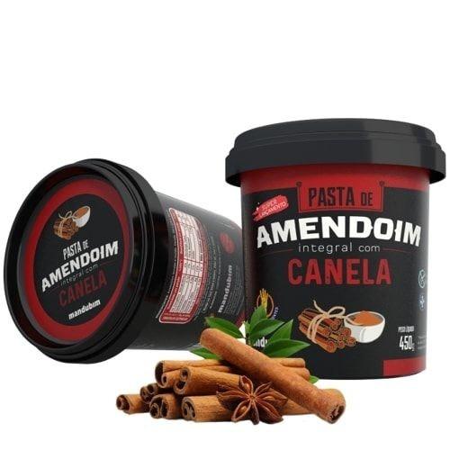 pasta de amendoim 450g canela
