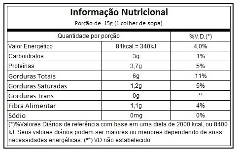 pasta de amendoim - guarana e mel - 500g