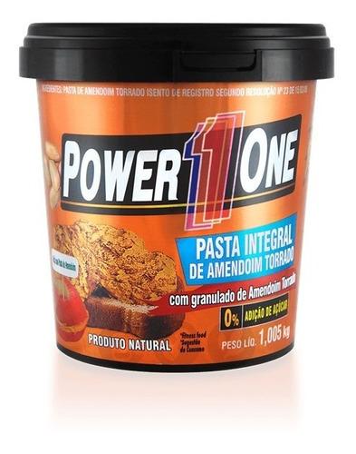 pasta de amendoim integral power one