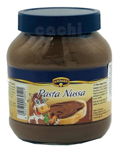pasta de avellana y chocolate pasta nussa 750gr tipo nutella