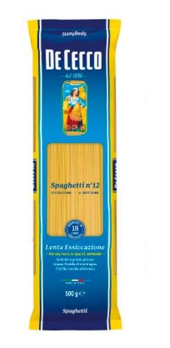 pasta de cecco spaghetti importada italia