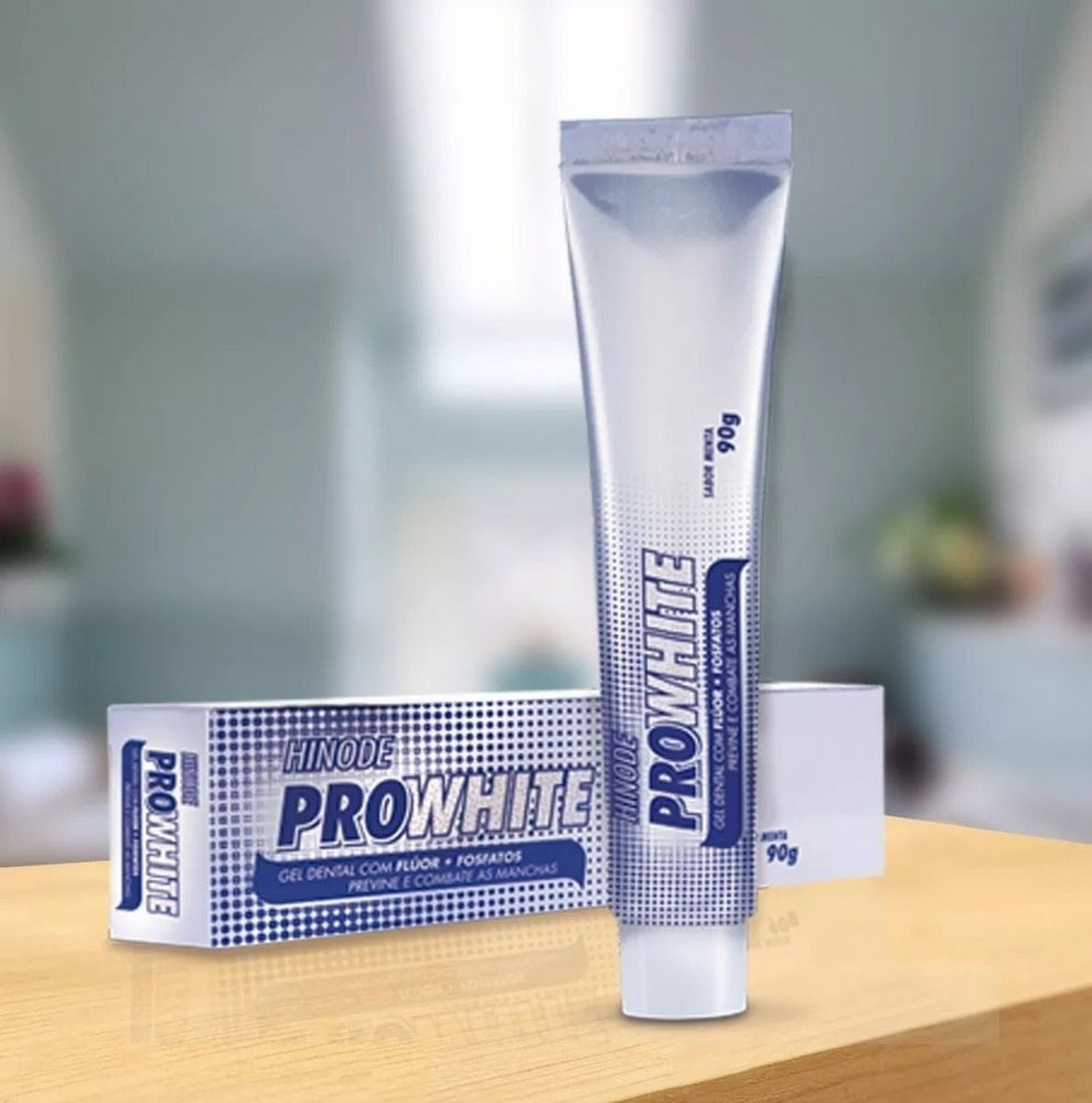 Pasta De Dente Clareadora Pro White Hinode Dentes Brancos Ja R 13