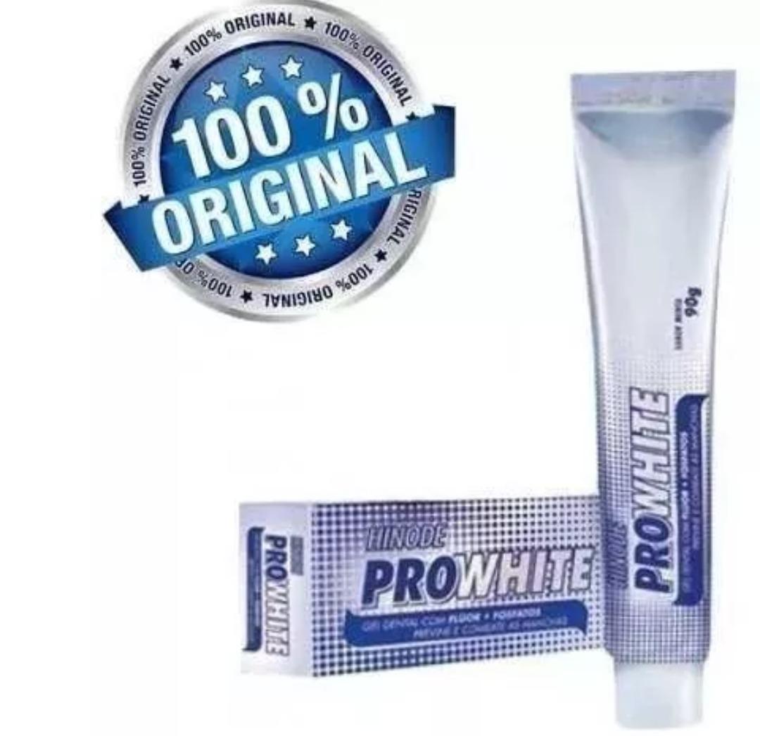 Pasta De Dente Clareadora Pro White Hinode Dentes Brancos Ja R 8