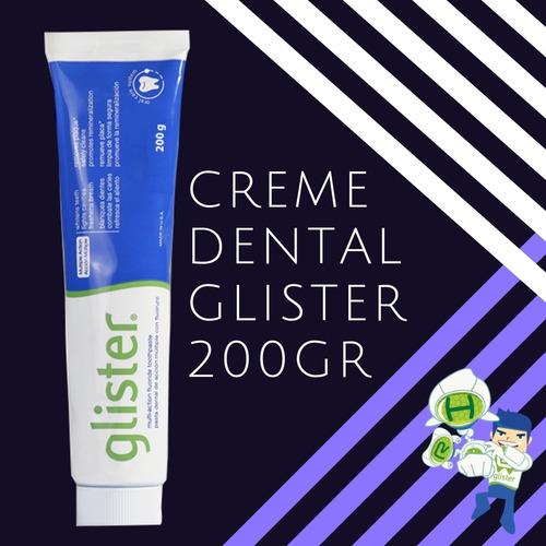 pasta de dente glister  fórmula sylodent contém 5-unid 200g