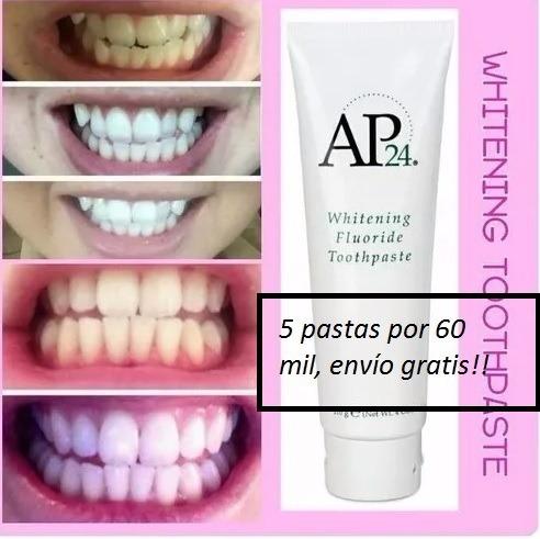 pasta de dientes blanqueadora ap 24