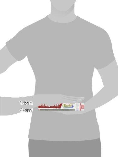 pasta de dientes colgate total fluoride, clean mint, 7.80 oz