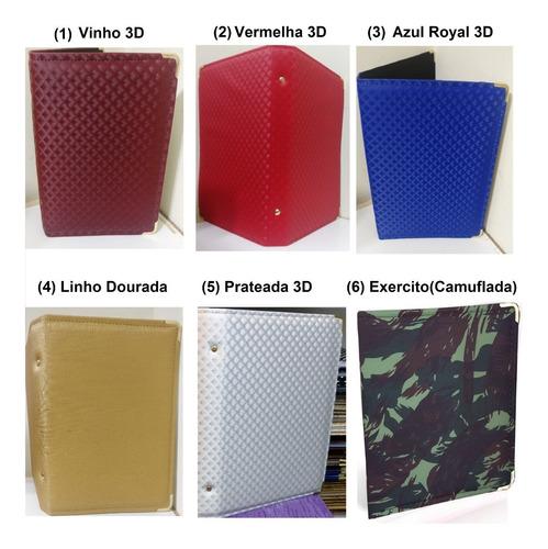 pasta de hinos para coral de igreja n°3 - varias opções cor