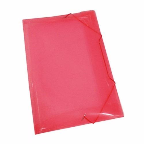 pasta de plastico com aba elástico tamanho ofício
