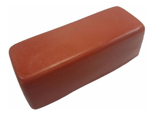 pasta de polir cor vermelha rouge jacare 145 gramas 1 unid
