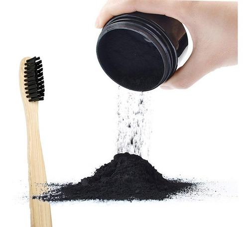pasta dental coco y carbón activo + cepillo dientes bamboo