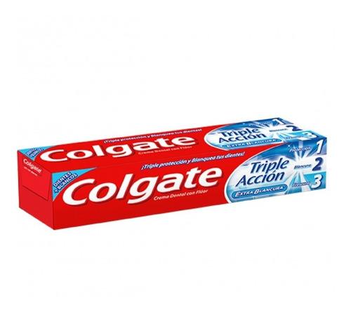 pasta dental colgate triple acción extra blancura 50 ml