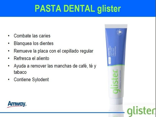pasta dental glister