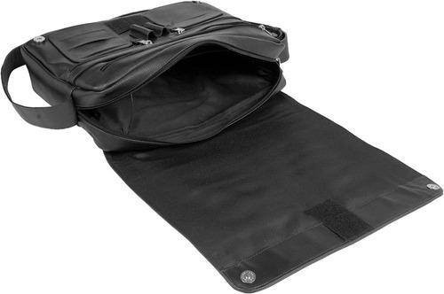 pasta executiva tipo carteiro em couro para notebook