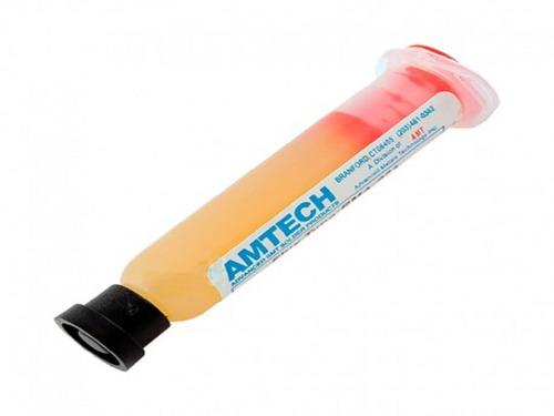 pasta flux amtech 10cc rma-223, reflow, reballing, soldar