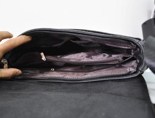 pasta homen leve note book discreta em nylon 30cm*24cm*7cm