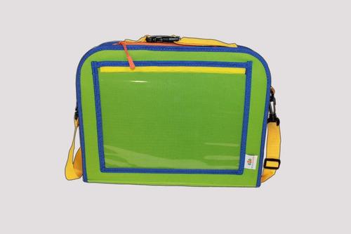 pasta infantil para carro tropa colorida desenho e tablet