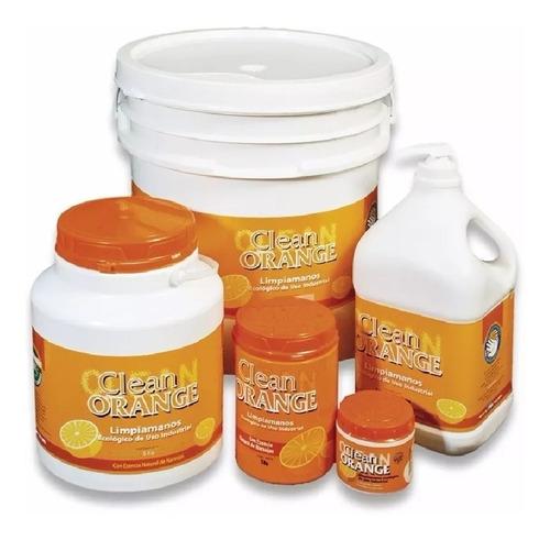 pasta limpiamanos clean orange 5kg locx piedra pomez