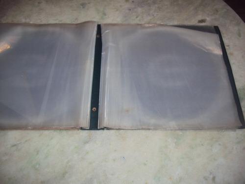 pasta paisagem para 16 disco vinil  lp dentro do plástico