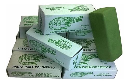 pasta para amolar facas verde cromo jacare 145 gr 3 unidades