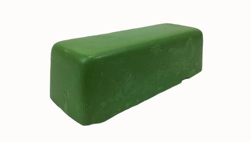 pasta para amolar facas verde cromo jacare 145 gr 4 unidades
