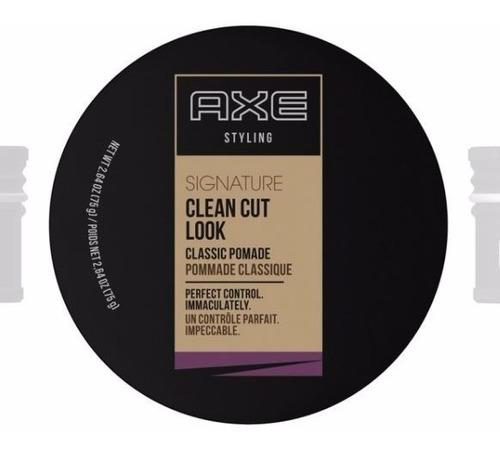 pasta para cabelo axe clean cut look