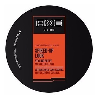 pasta para cabelo axe styling adrenaline spiked up look