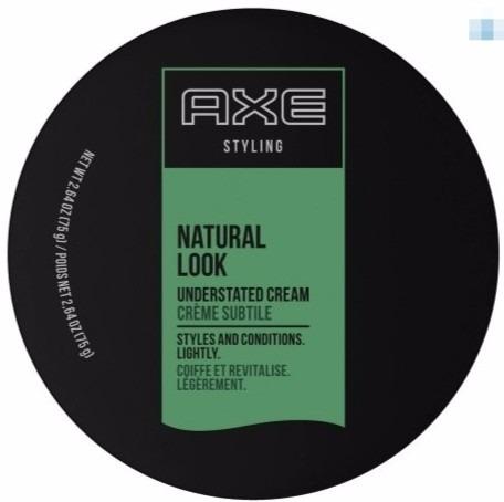 pasta para cabelo axe styling natural look