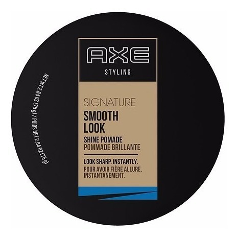 pasta para cabelo axe styling signature smooth look