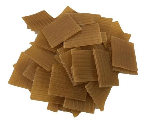 pasta para chicharrones de harina en cuadro 4 x 4 cm.  1 kg