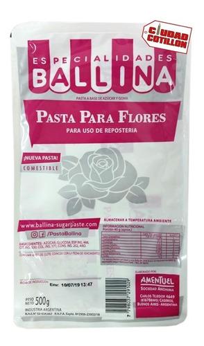 pasta para flores ballina x 500g - ciudad cotillón