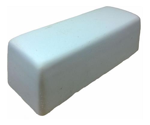 pasta para polir e dar brilho abrasiva branca jacare 145 gr