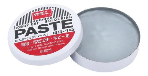 pasta para soldar   goot bs-10grs 100% japonesa
