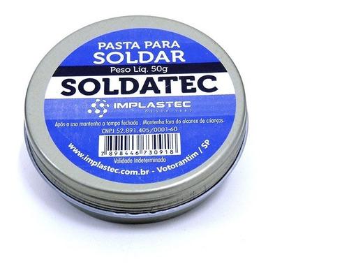 pasta para soldar - implastec soldatec 50g