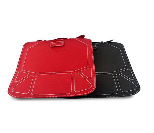 pasta p/ipad c/apoio reclinavel preta enzsuntw-a1blk