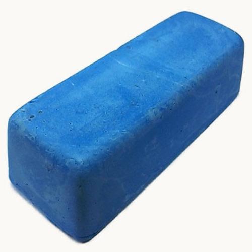 pasta polimento alto brilho em metais azul jacare 145gr 3 un