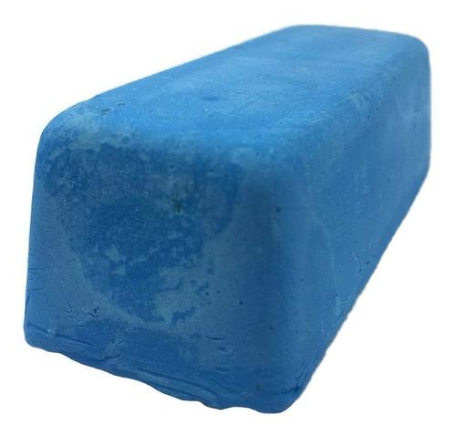 pasta polimento alto brilho em metais azul jacare 145gr 5 un