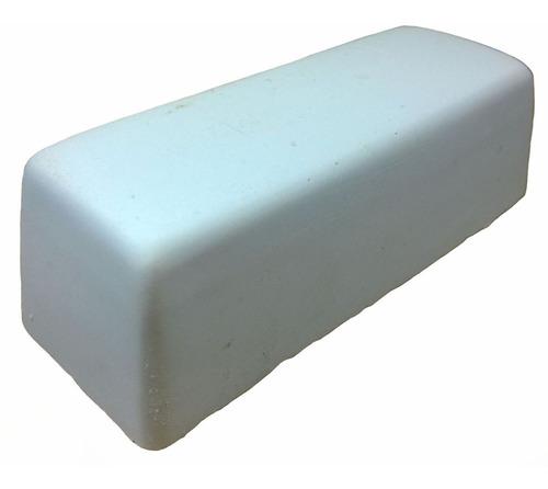 pasta polimento em metais alumínio branca jacare 145g 2 unid