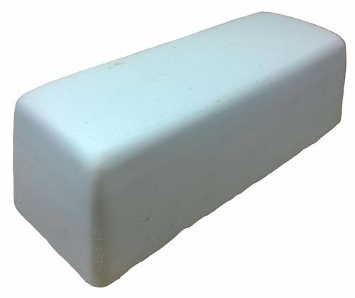 pasta polimento em metais alumínio branca jacare 145g 5 unid