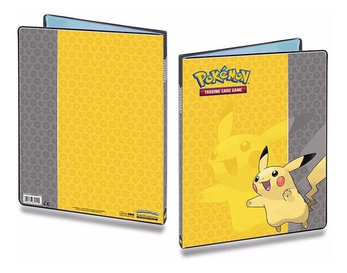 pasta / portfolio / binder para cards pokemon tcg pikachu
