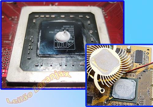pasta térmica 4 sachês processadores cooler fan nvidia intel